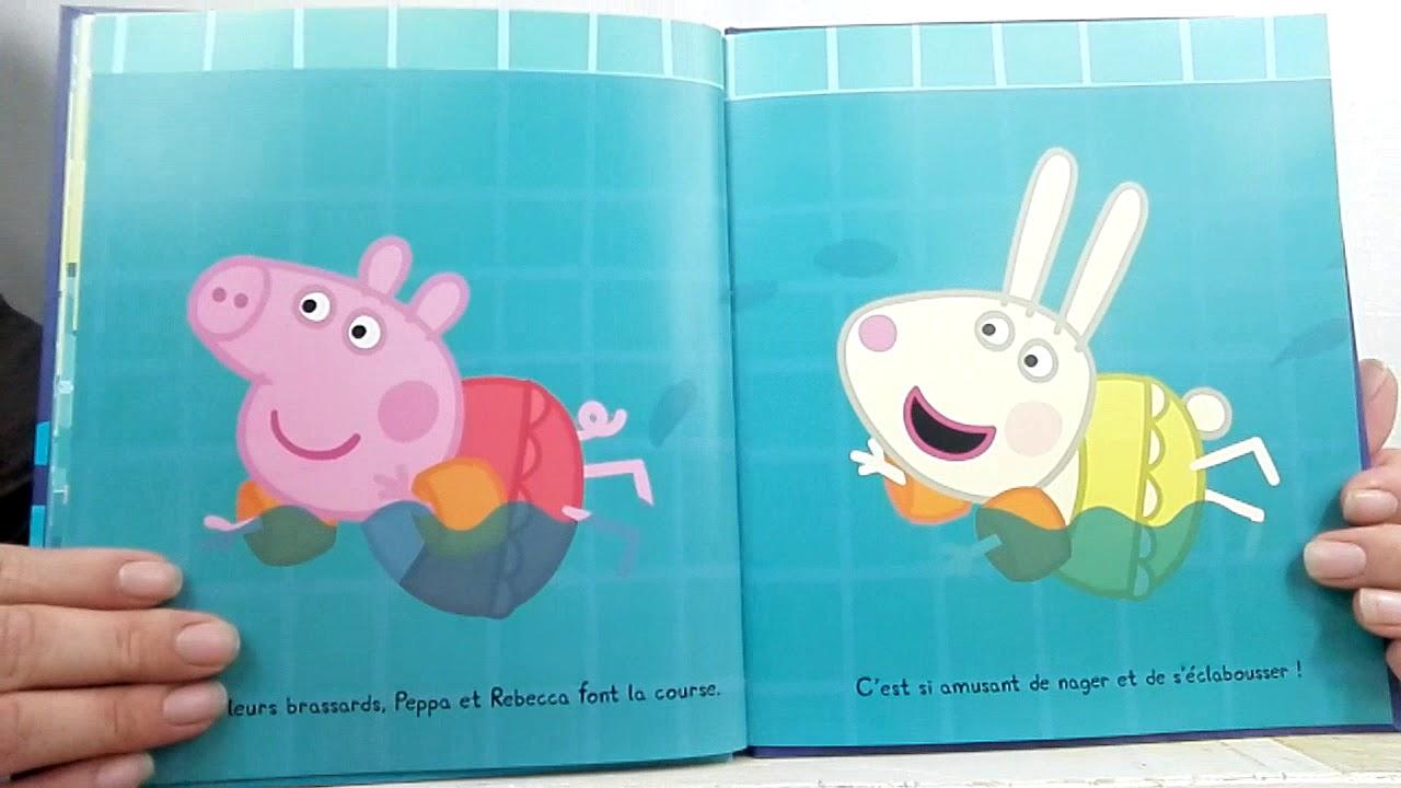 Peppa Pig-Peppa Va À La Piscine /histoire Pour Les Enfants En Français concernant Peppa Pig À La Piscine
