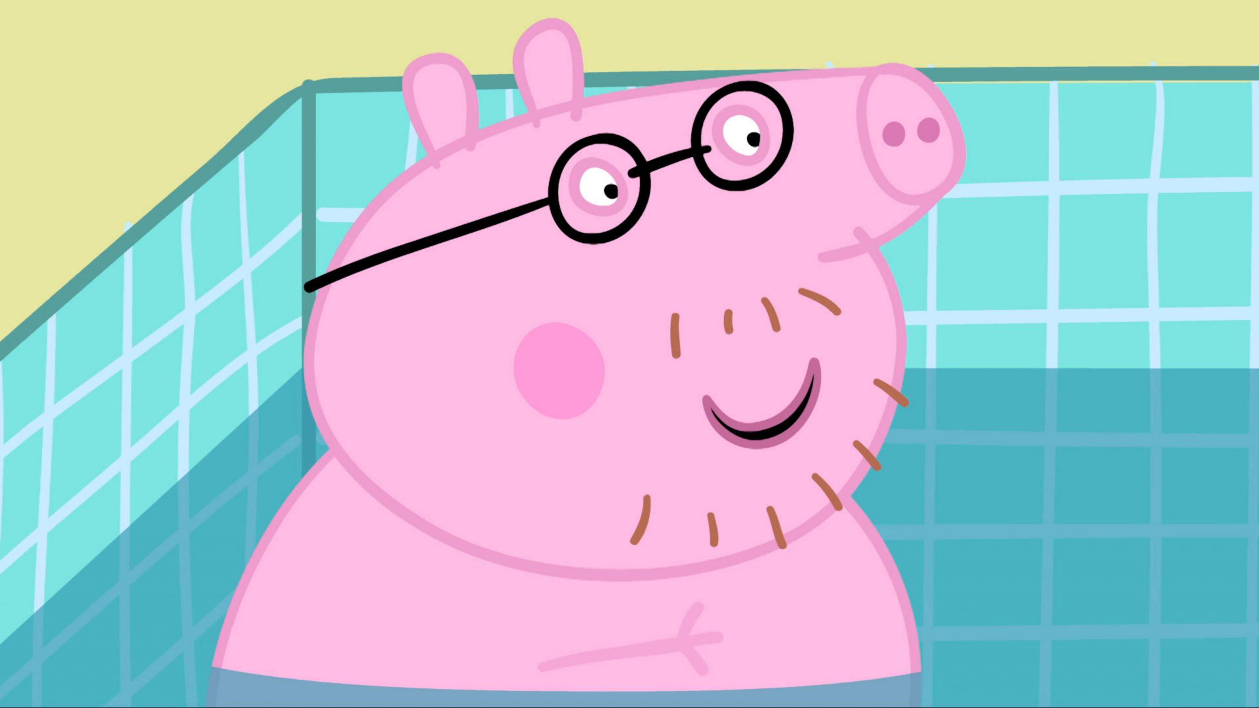 Peppa Pig | Tous À La Piscine | Ici Tou.tv serapportantà Peppa Pig À La Piscine