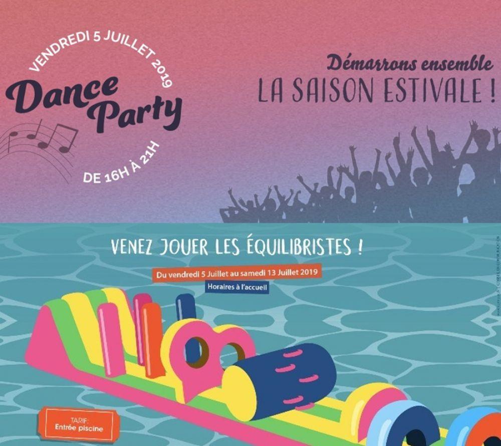 Période Estivale Et Danse Party Dans Votre Piscine Inter ... serapportantà Piscine Caudry