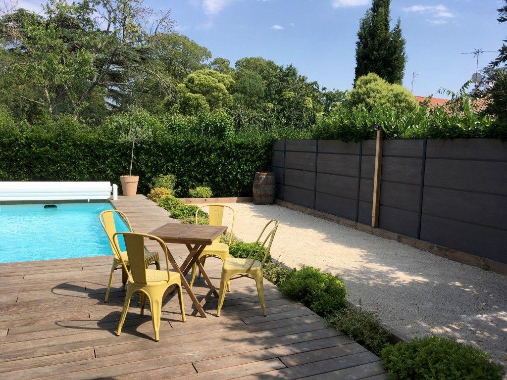 Petit Jardin De Ville Aménagement Paysager Terrasse Piscine ... destiné Colomiers Piscine
