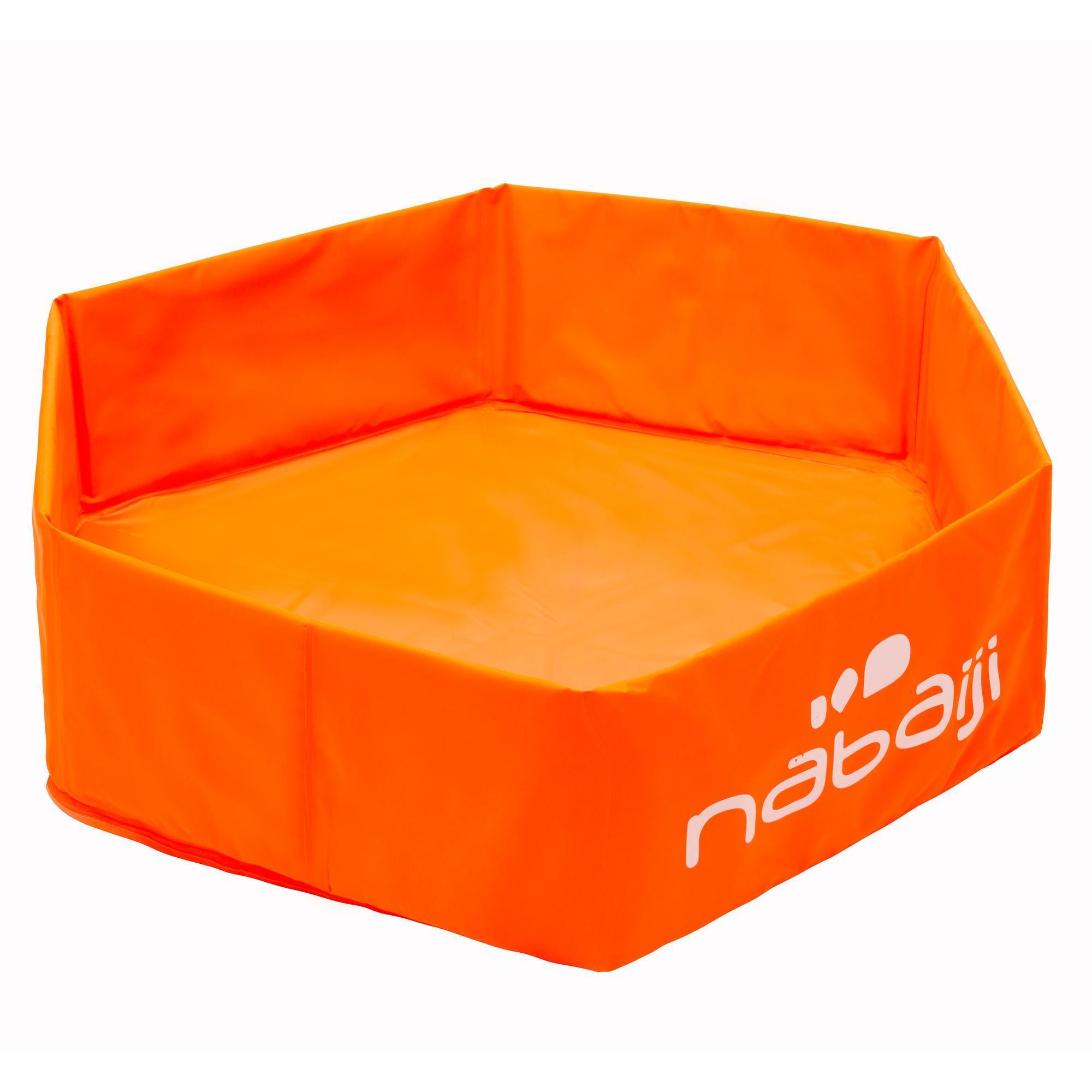 Petite Piscine Enfant Tidipool Basic Orange encequiconcerne Velo Piscine Decathlon