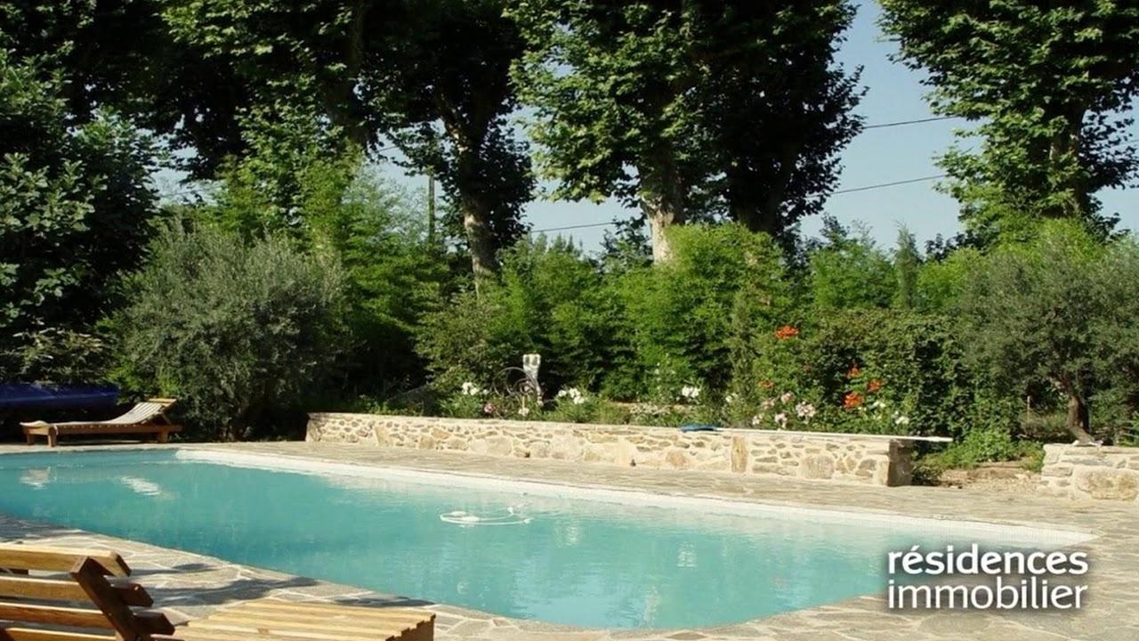 Pezenas - Maison A Vendre - 695 000 € - 580 M² - 20 Pièces dedans Piscine Pezenas