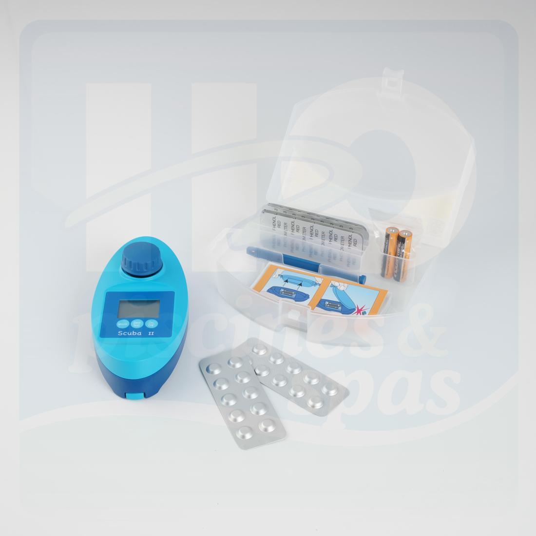 Photomètre Lovibond Scuba Ii - H2O Piscines & Spas pour Photomètre Piscine