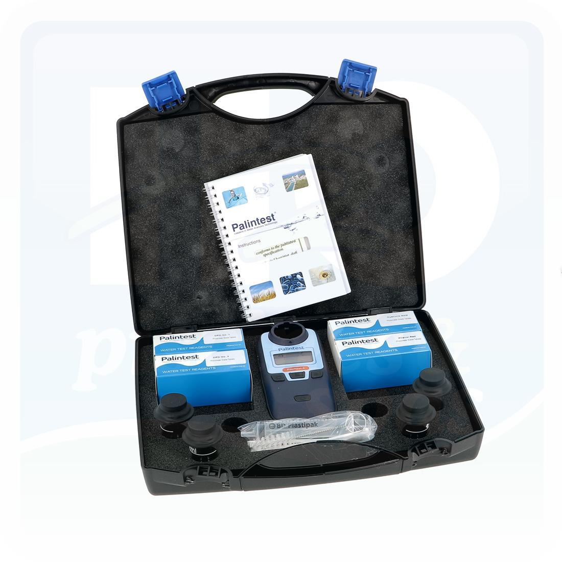 Photomètre Palintest Pooltest 6 - Cl - Ph - Br - Stabilisant - Tac - Th -  H2O Piscines & Spas serapportantà Photomètre Piscine