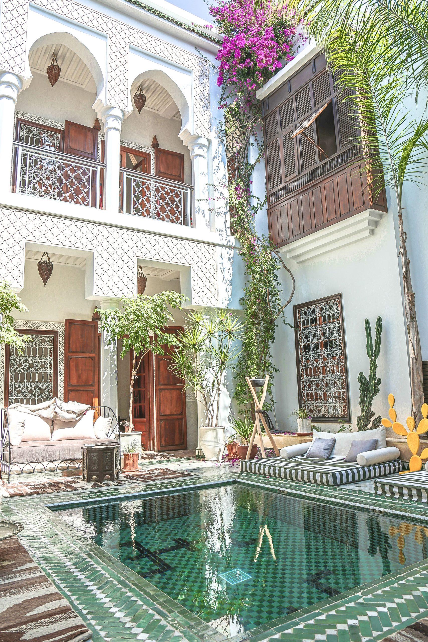 Photos – Riad Yasmine Morocco   Mimari, Mimari Tasarım Ve Fas destiné Riad Marrakech Avec Piscine