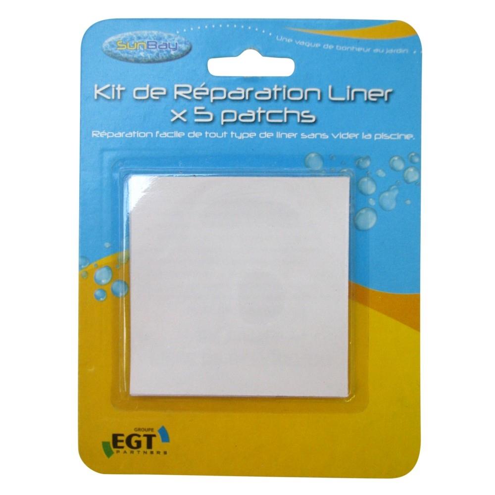 Pièces De Réparation Liner X5 Sunbay dedans Kit De Reparation Piscine