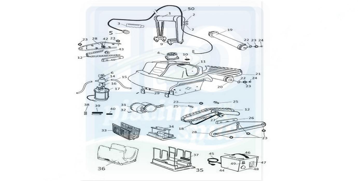 Pièces Détachées Piscines : Robots Électriques Piscines ... serapportantà Pieces Detachees Piscine