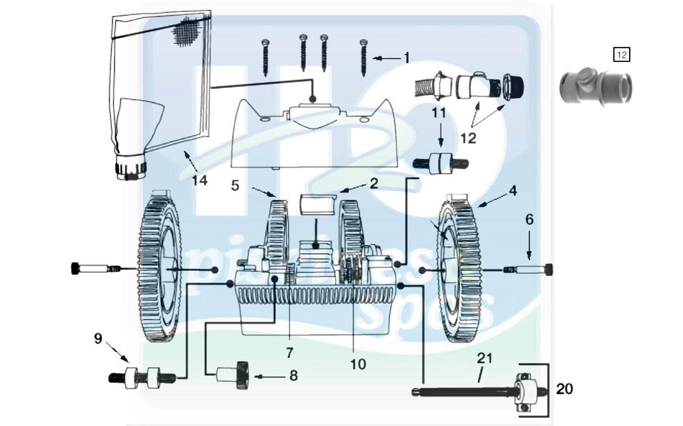 Pièces Détachées Piscines : Robots Hydrauliques, Victor ... avec Pieces Detachees Piscine