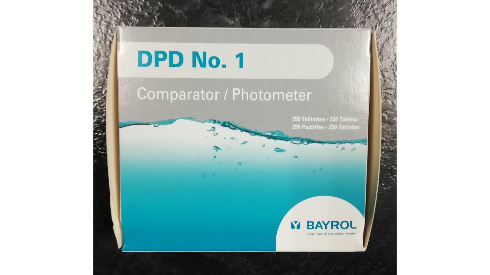 Pilules Dpd N°1 Noir Pour Photomètre Piscine Bayrol pour Photomètre Piscine