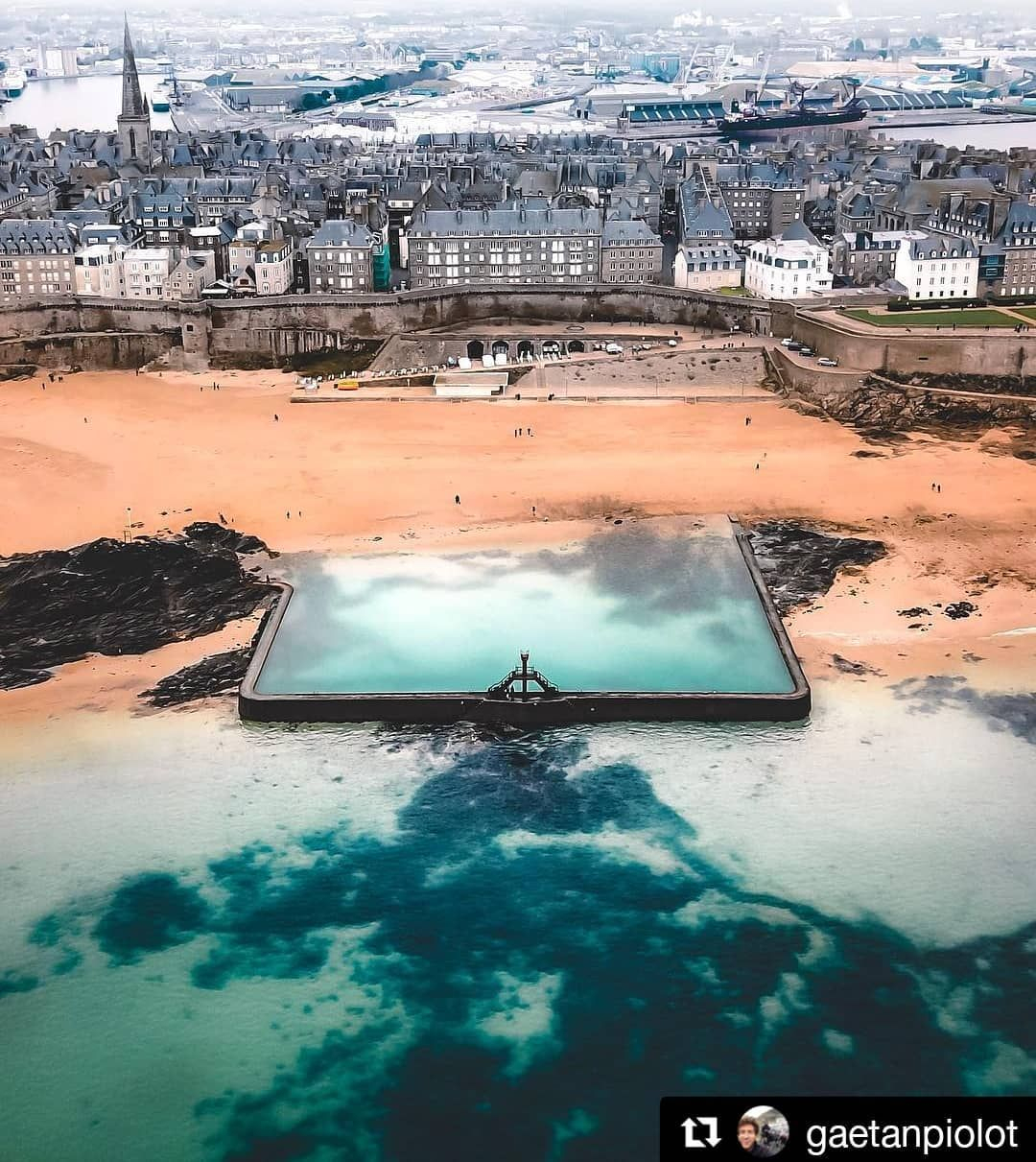 Pin By Alizé Mccolm On Bretagne In 2020 | Brittany France ... tout Piscine St Malo