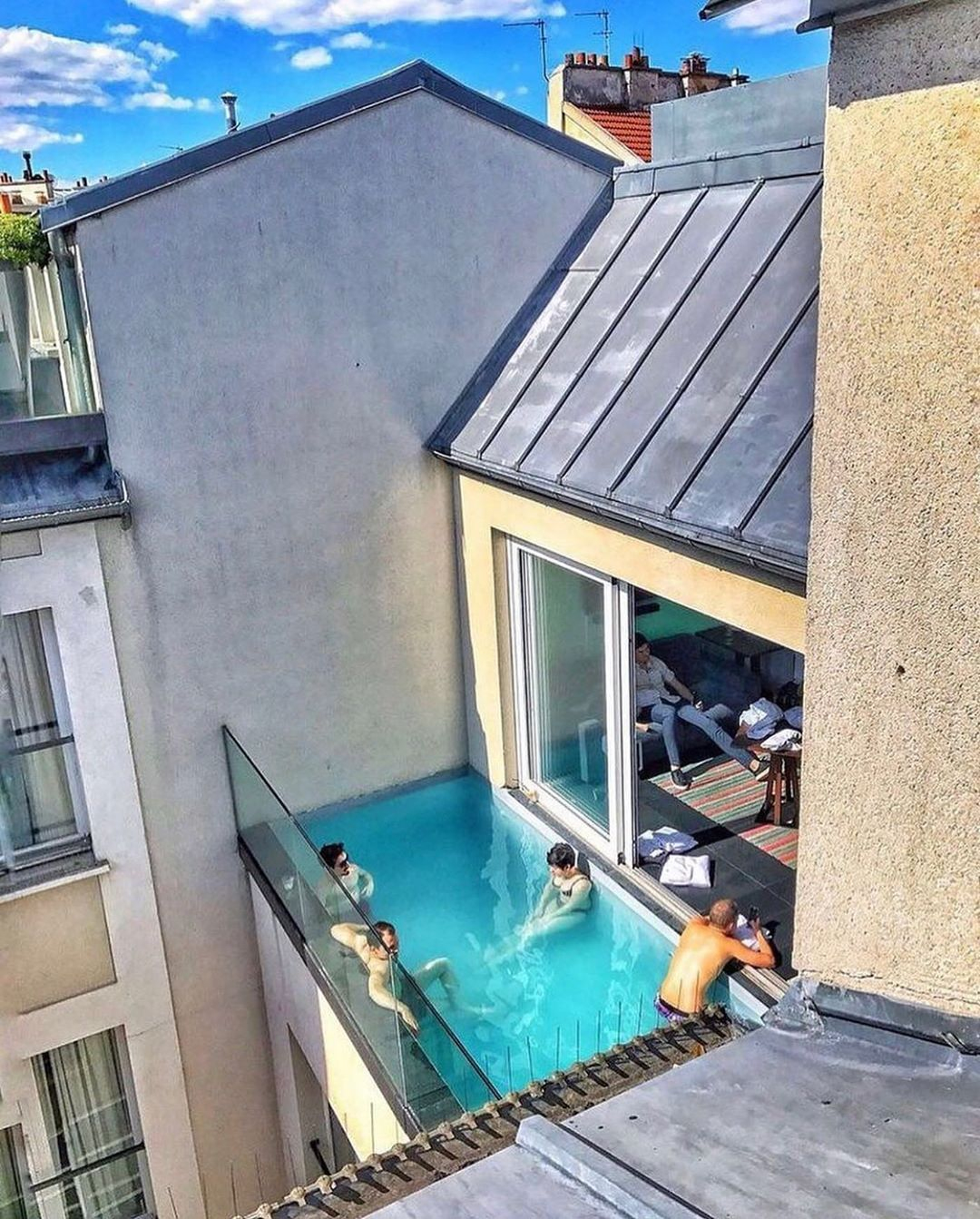 Pin By Aubrey Rose On House | Luxury Swimming Pools, Pool ... avec Hotel Paris Piscine