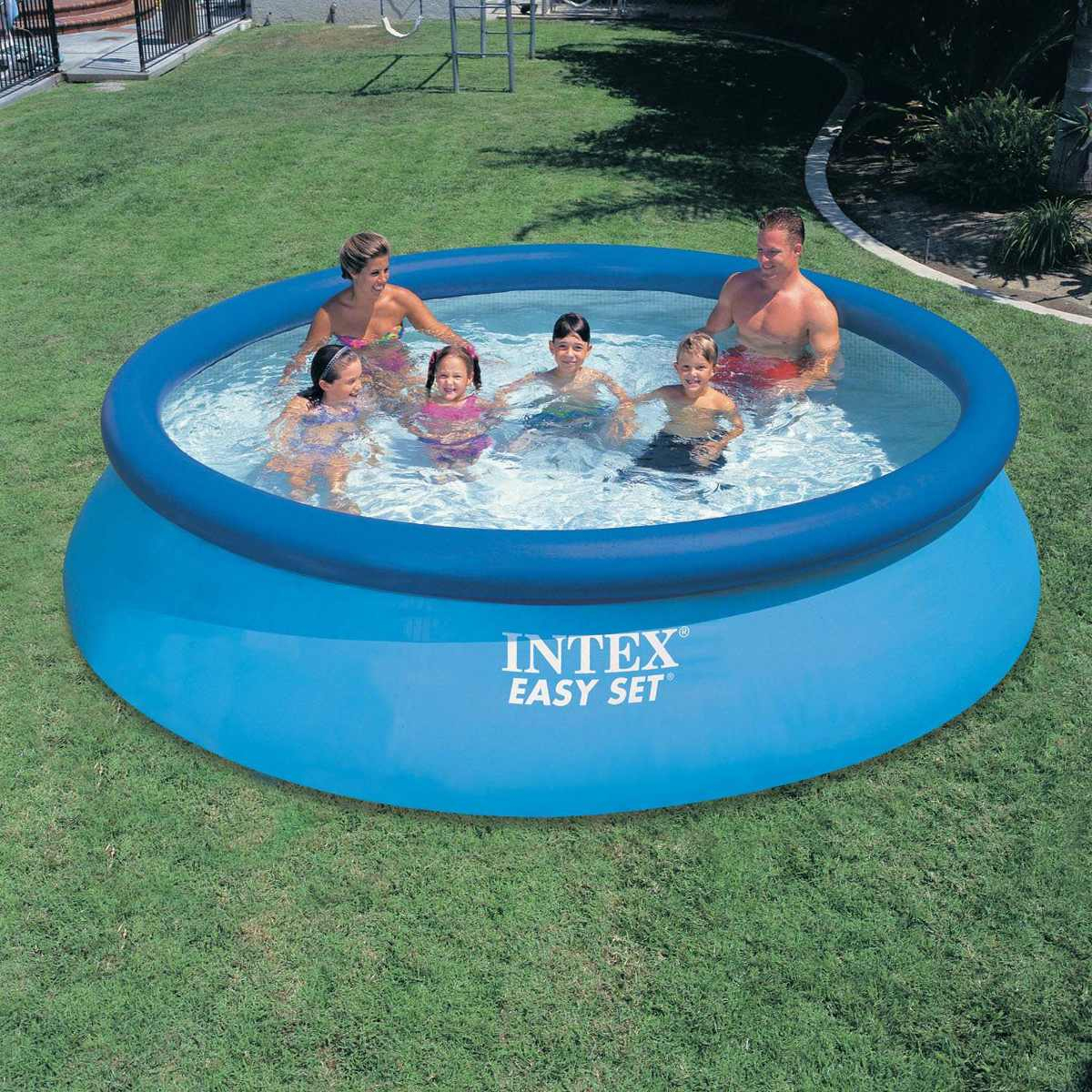 Piscina Inflable Familiar Intex 3.66Mx76Cm Con Filtro +Obseq concernant Piscine Intex 3.66