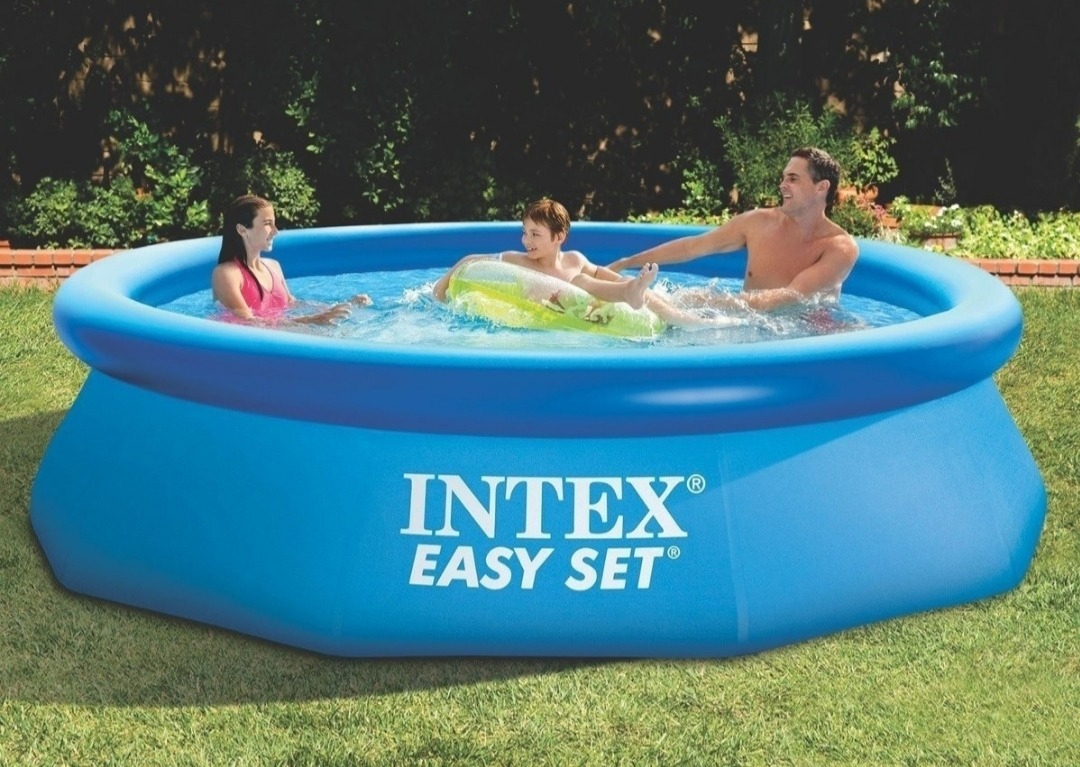 Piscina Intex Easy Set De 5.621 Litros 3.66X76Cm. Nueva. intérieur Piscine Intex 3.66
