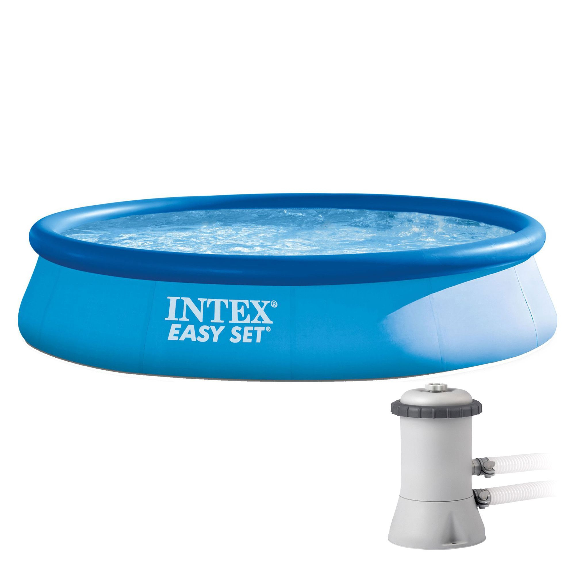 Piscina Intex Easy Set Pentru Copii, 3.96M X 84Cm serapportantà Piscine Intex 3.66