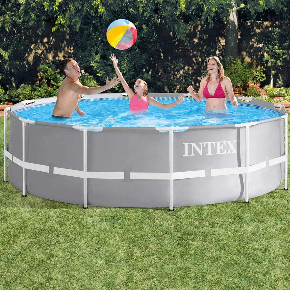 Piscina Intex Prism Ultra Frame, Pompa + Scara Inclusa 3.66M X 99Cm tout Piscine Intex 3.66
