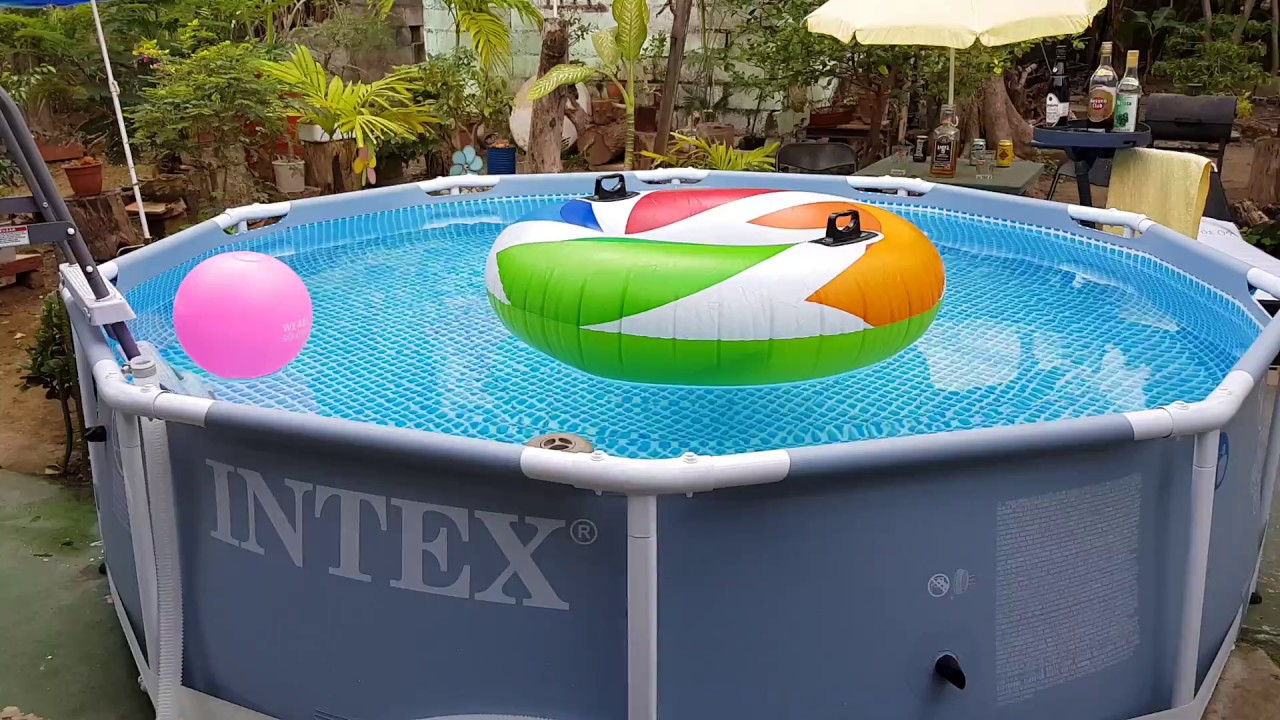 Piscina Intex Prisma Frame. 305 X 76 Pool Intex destiné Piscine Intex 3.66