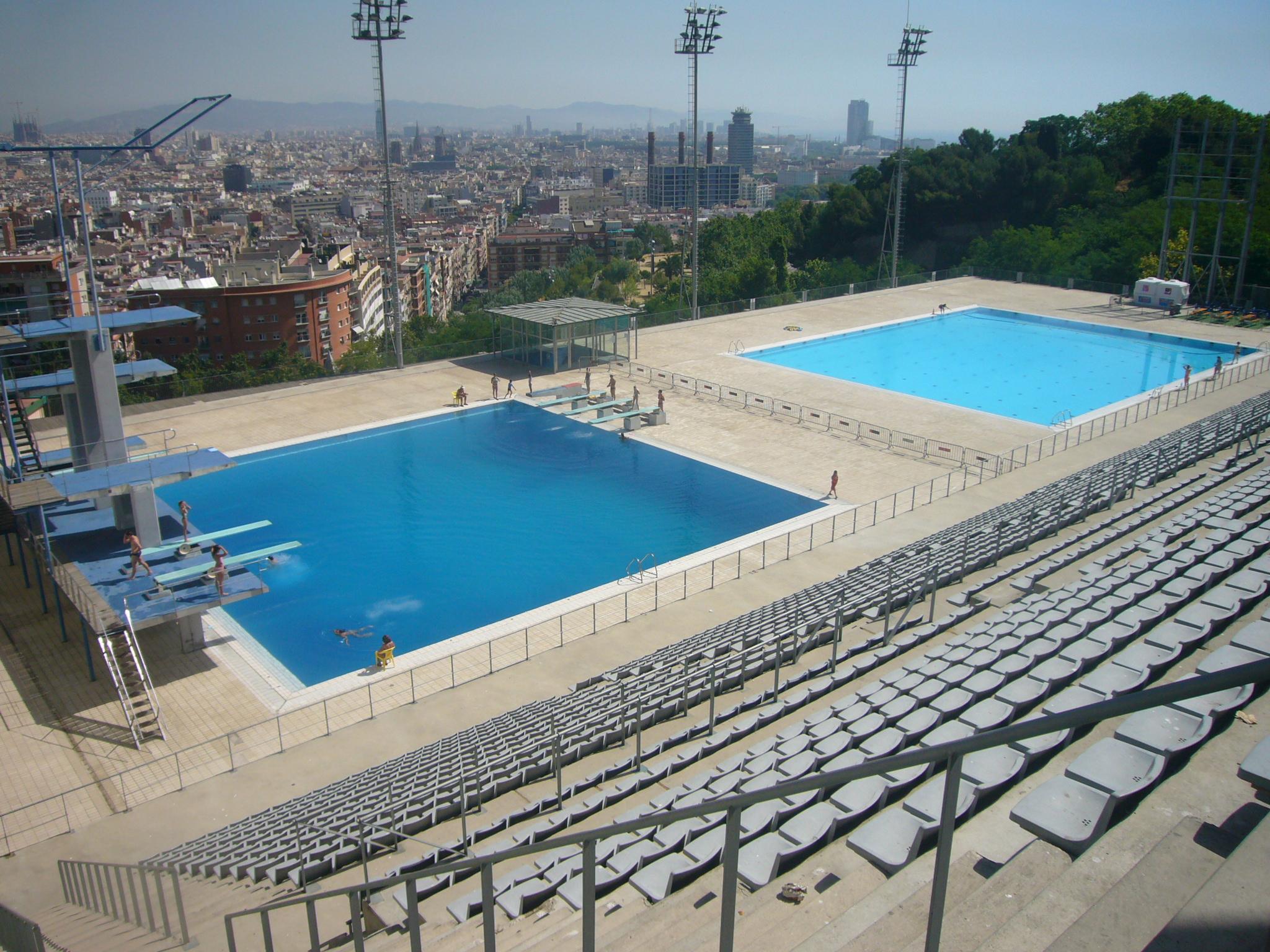 Piscina Municipal De Montjuïc - Wikipedia pour Piscine Segré