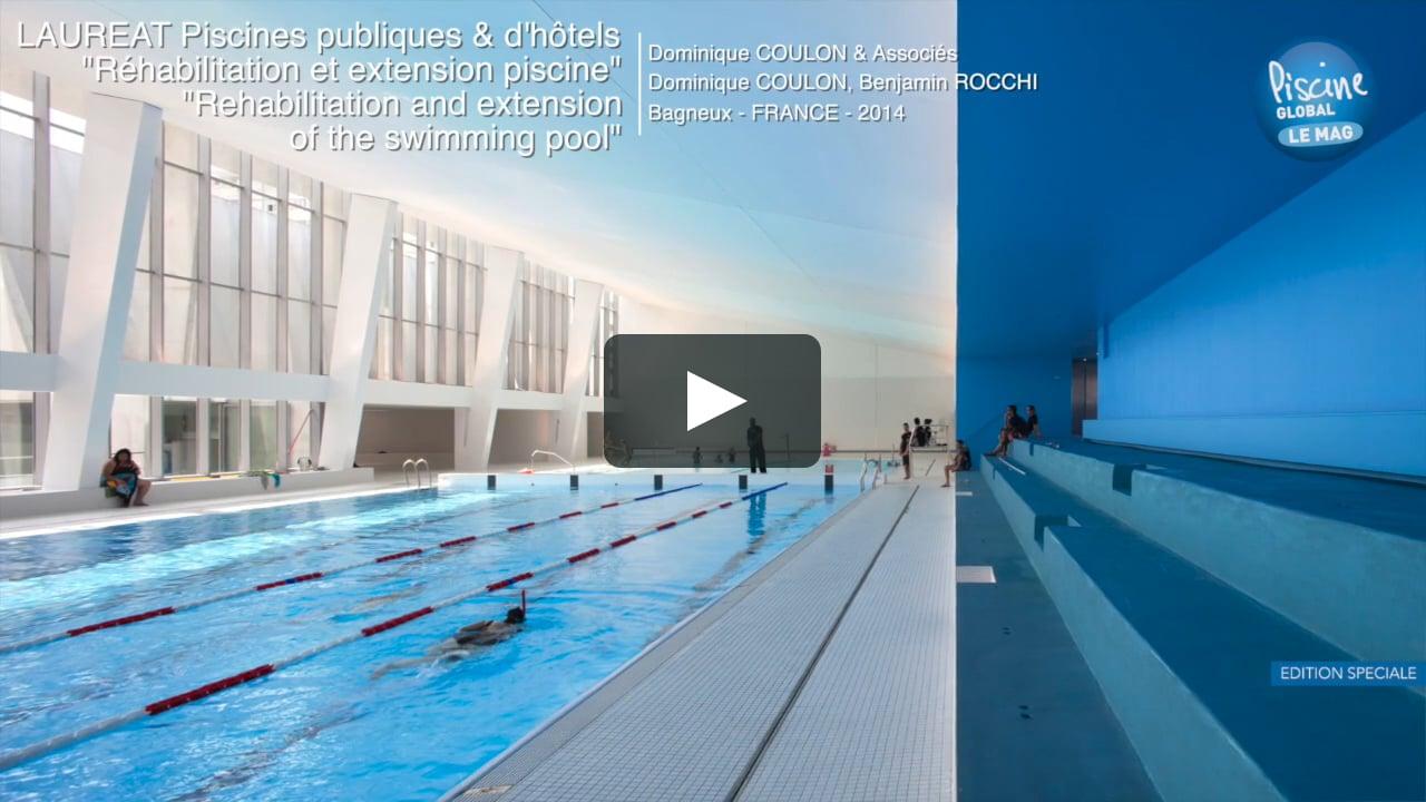 Piscine À Bagneux - Pool Vision Award 2014 avec Piscine De Bagneux