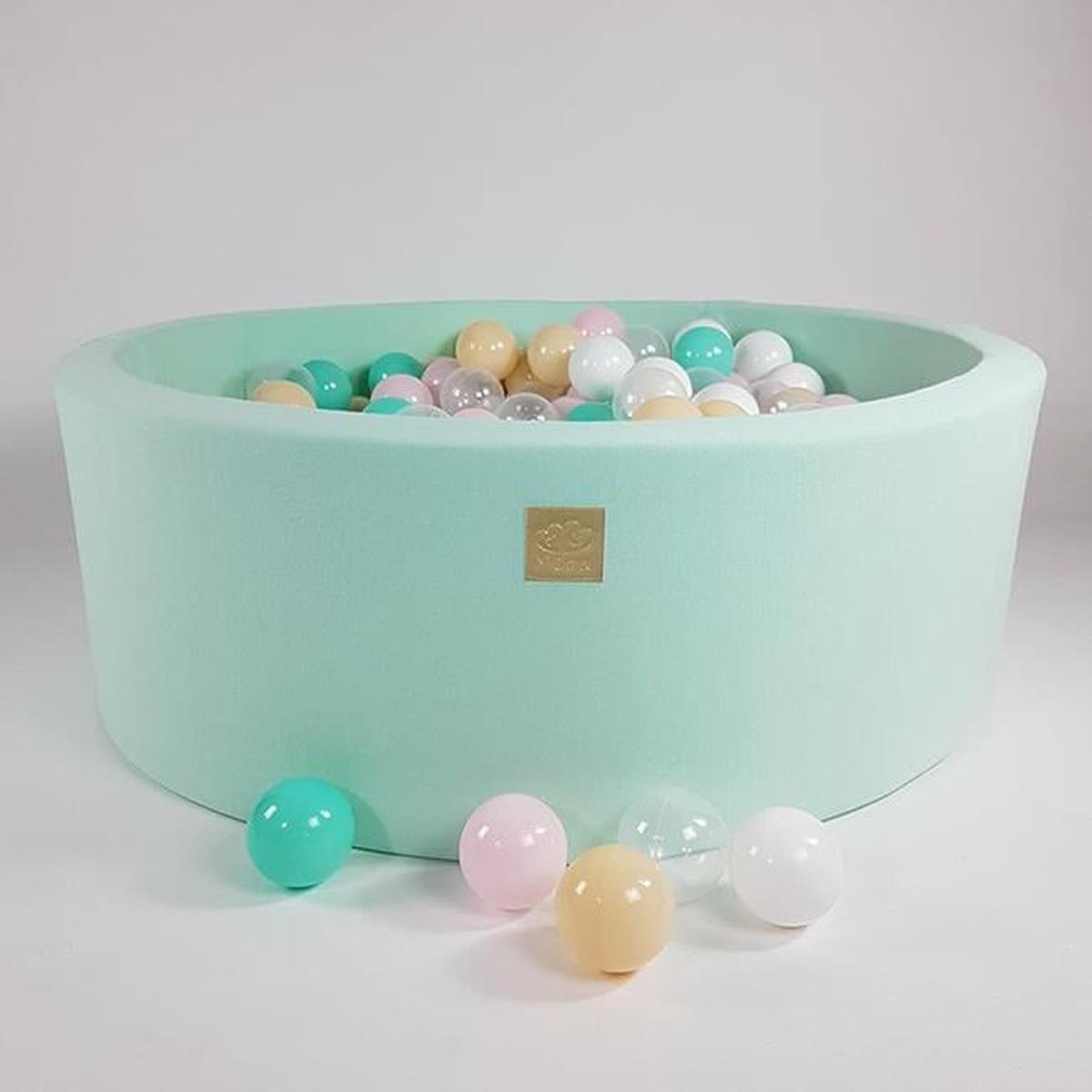 Piscine À Balles 40Cm + 300 Balles Pour Enfants Bébé Parc ... avec Piscine A Balle En Mousse