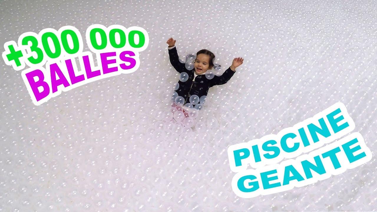 Piscine À Balles Géante - Fun & Baignade Dans + 300 000 Balles 😀sortie Fun  En Famille concernant Piscine A Balle Geante