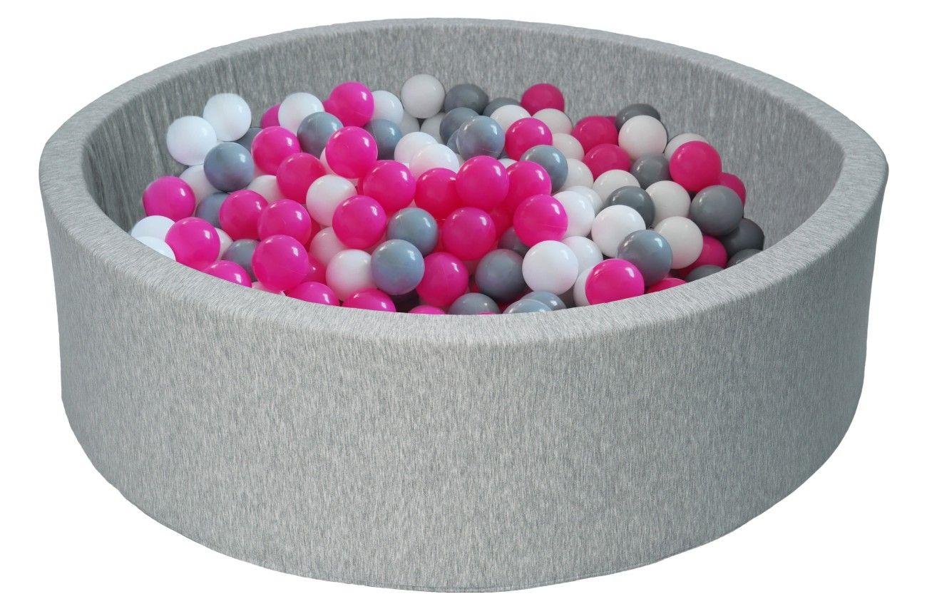 Piscine À Balles Pour Enfant, Aire De Jeu + 150 Balles ... intérieur Piscine À Balles Bébé