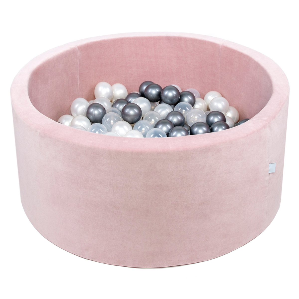 Piscine À Balles Rose Pale 90 X 40 Cm + 200 Balles serapportantà Piscine À Balles Bébé