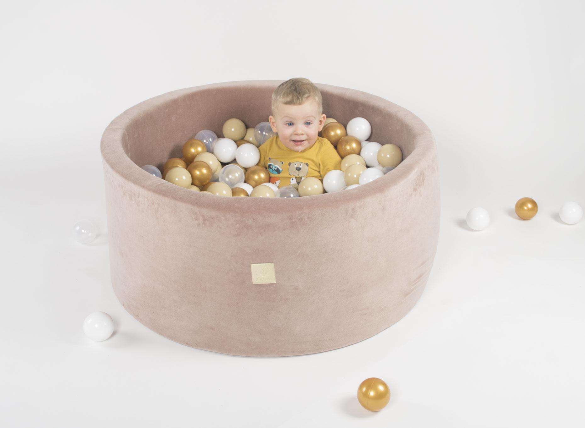 Piscine À Balles - Velvet Beige à Piscine À Balles Bébé
