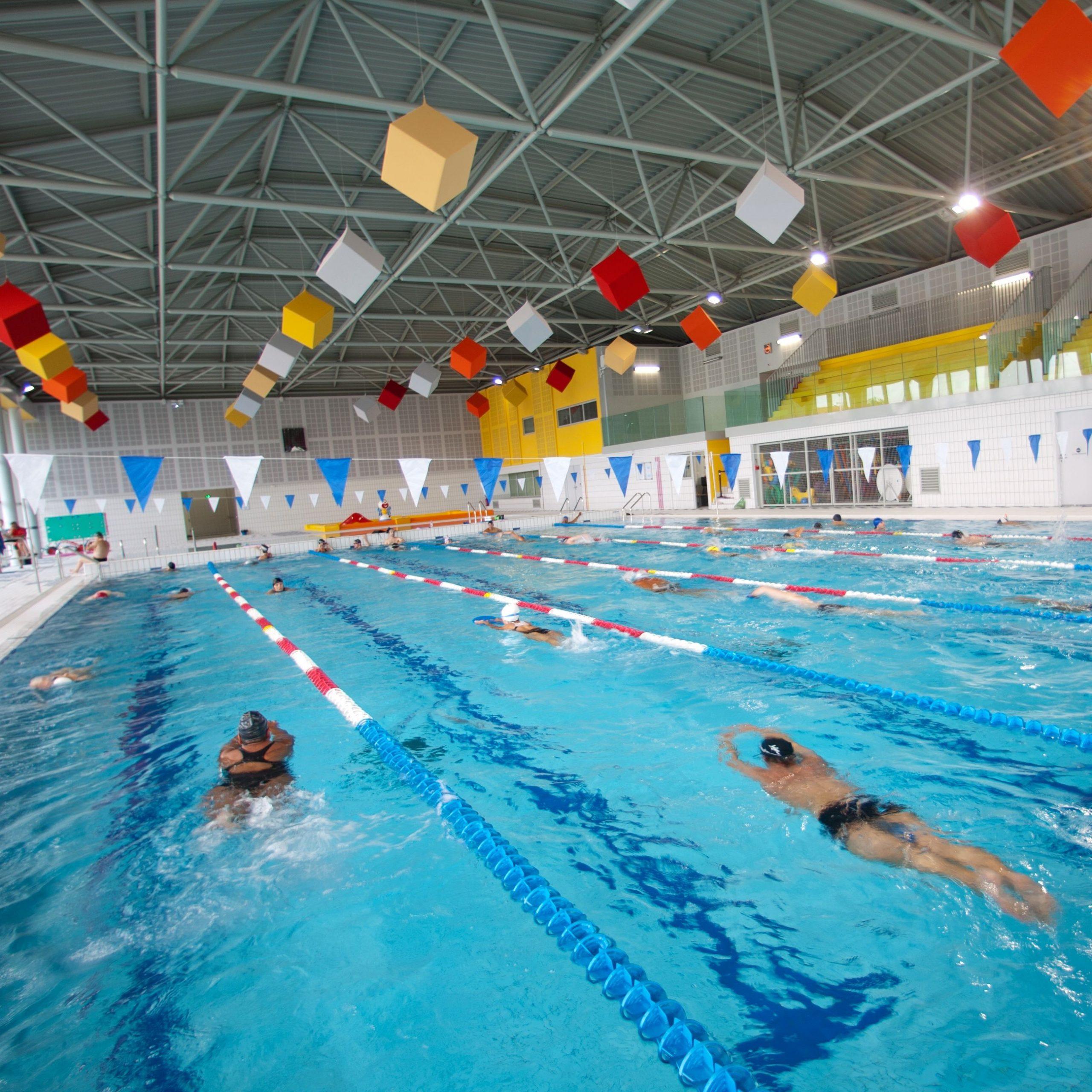 Piscine Alex Jany - Grand Bassin De 25M Par 15M, Petit ... intérieur Piscine Alex Jany