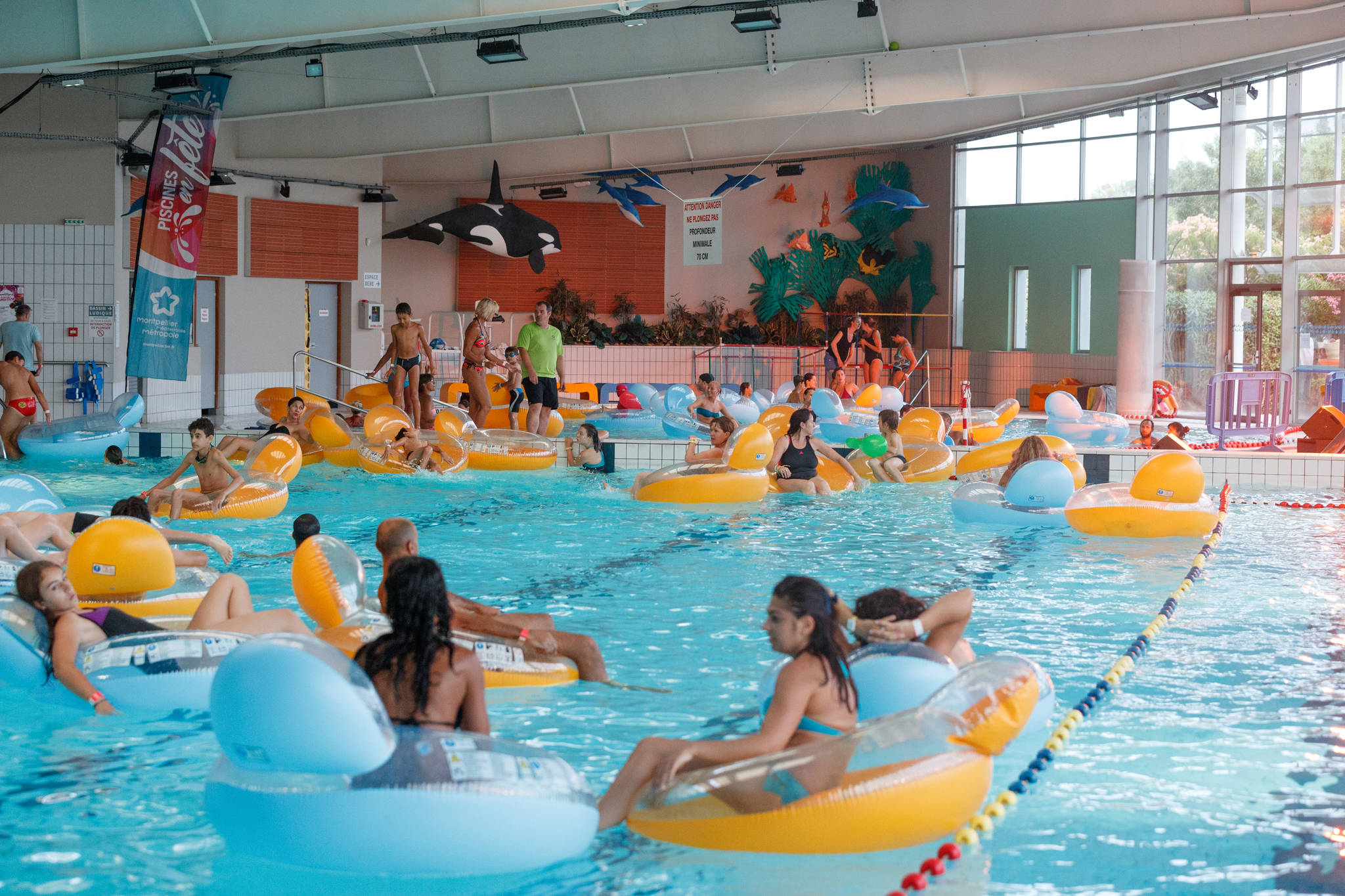 Piscine Amphitrite, Swimming-Pool - Montpellier Tourist Office dedans Piscine Saint Jean De Vedas