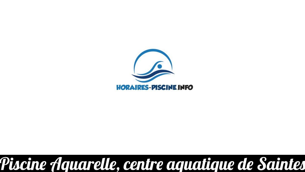 Piscine Aquarelle, Centre Aquatique De Saintes à Piscine Aquarelle Saintes