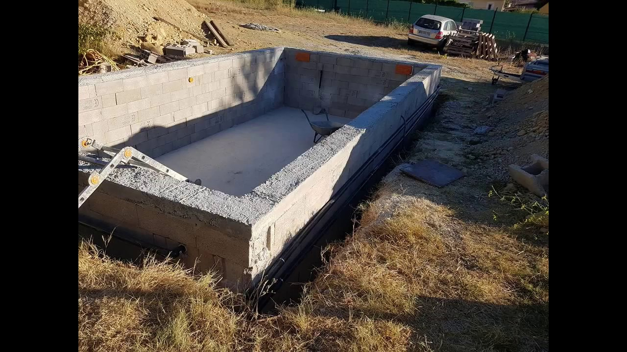 Piscine Autoconstruction À Petit Prix à Autoconstruction Piscine