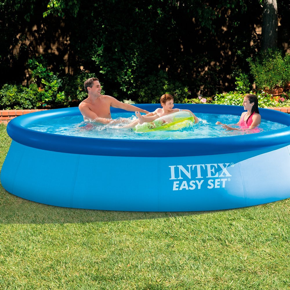 Piscine Autoportante Easy Set 366Cm X 76Cm Intex dedans Piscine Boudin