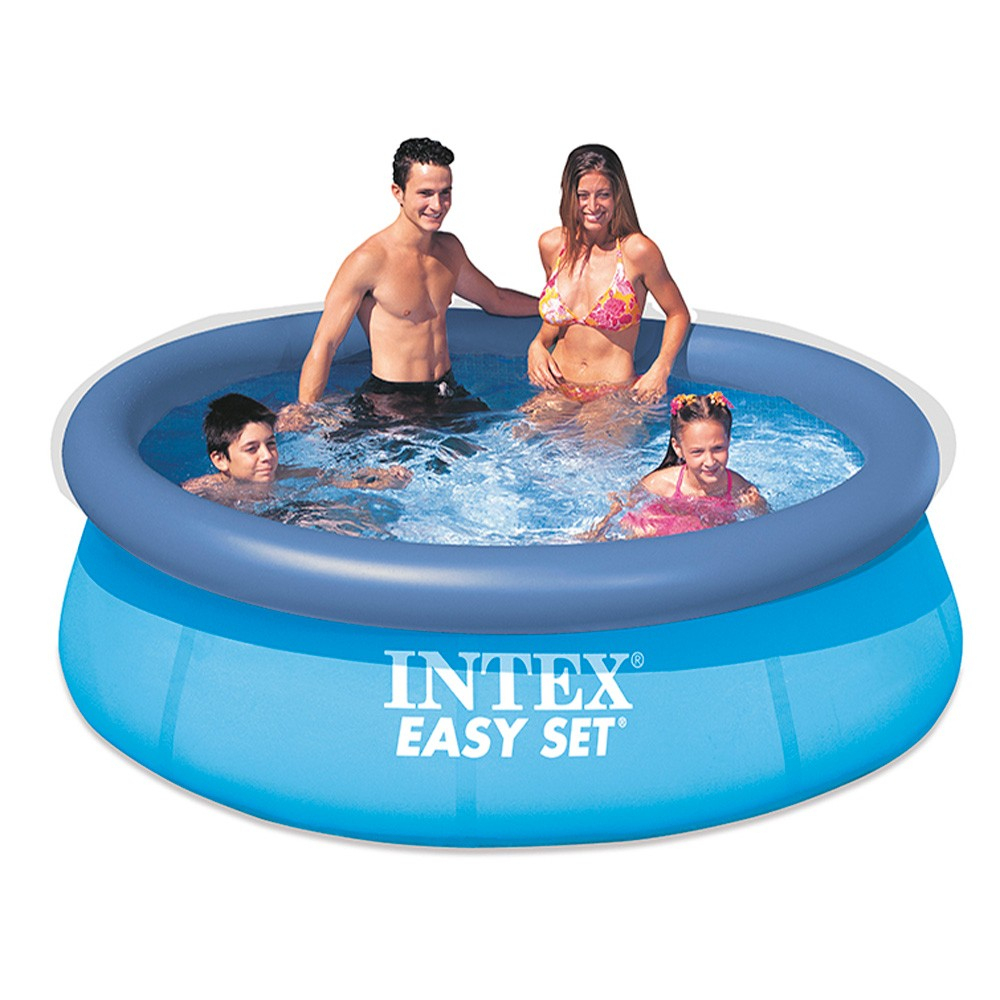 Piscine Autoportante Intex Easy Set Ø244 X H76 Cm à Leclerc Piscine Gonflable
