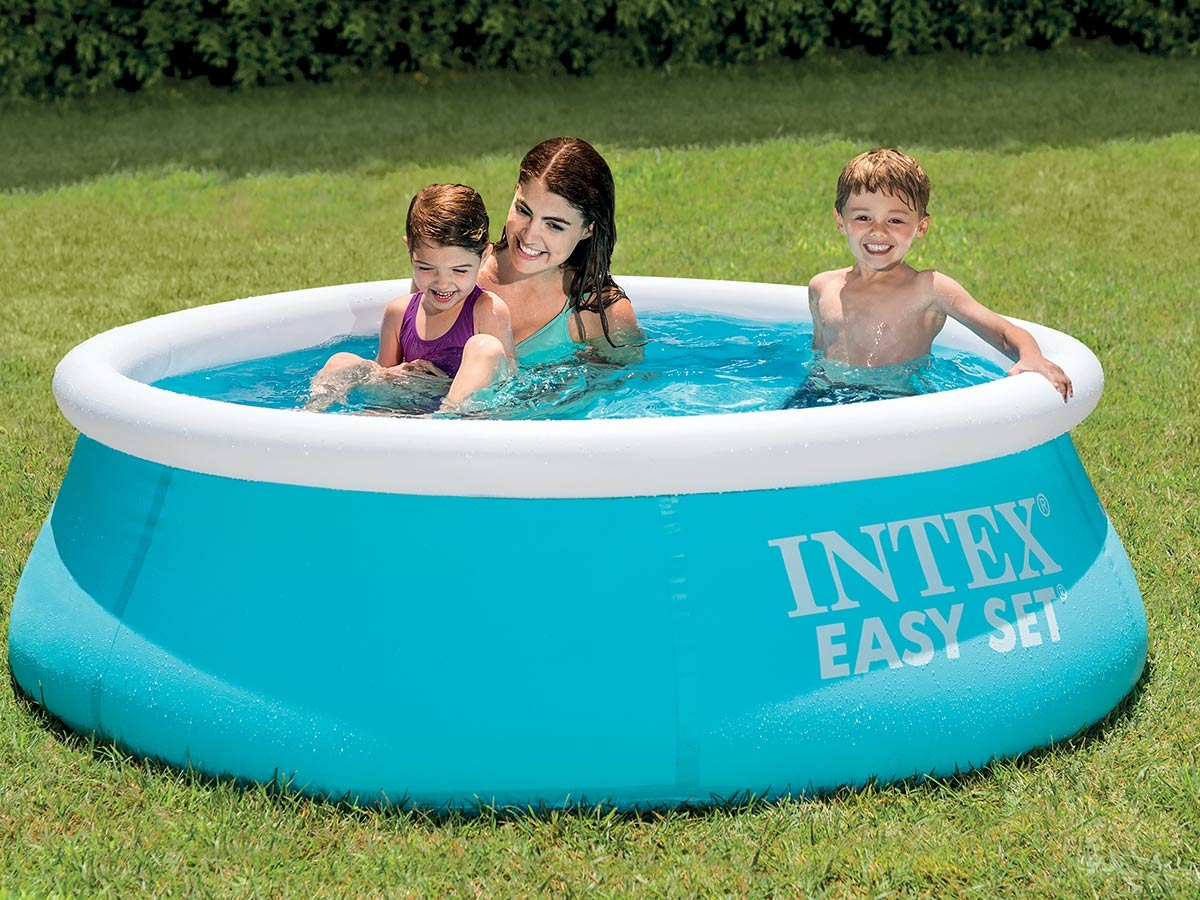 Piscine Autoportée Easy Set 1,83 X 0,51 M - Intex serapportantà Piscine Boudin