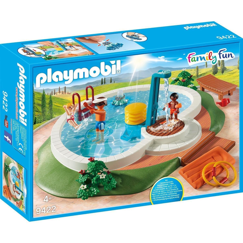 Piscine Avec Douche 9422 Playmobil : La Boite À Prix ... destiné Piscine Playmobil 5575