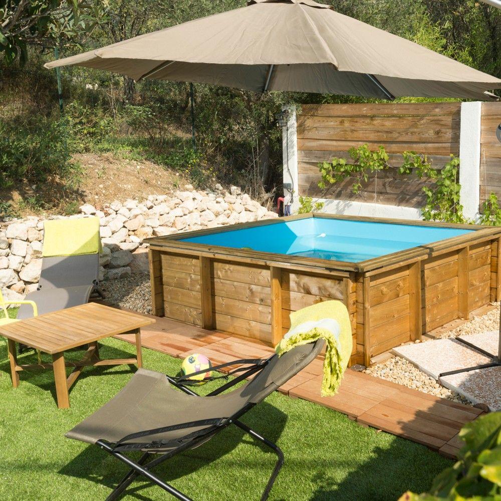 Piscine Bois Hors-Sol Tropic Junior In 2019 | Maisont ... intérieur Piscine Proswell