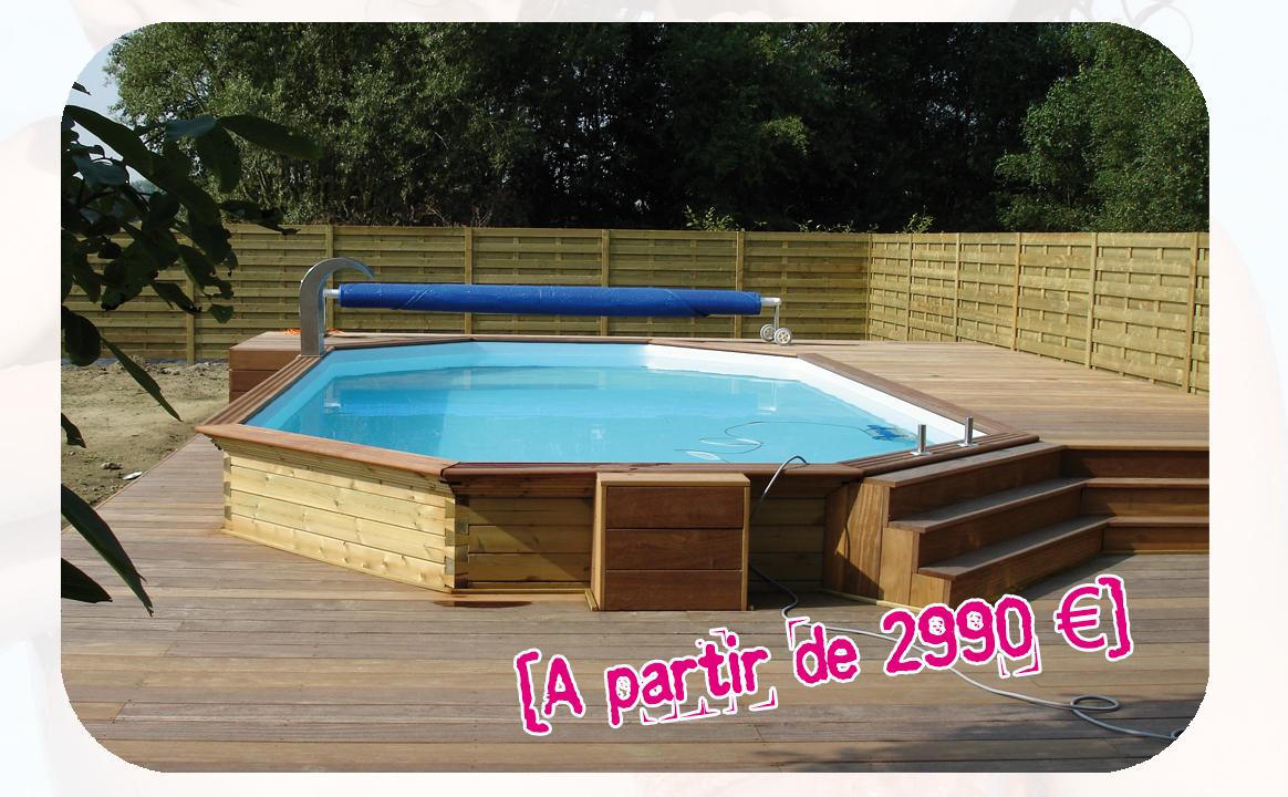 Piscine Bois Pas Cher Concept - Idees Conception Jardin dedans Piscine Bois Solde