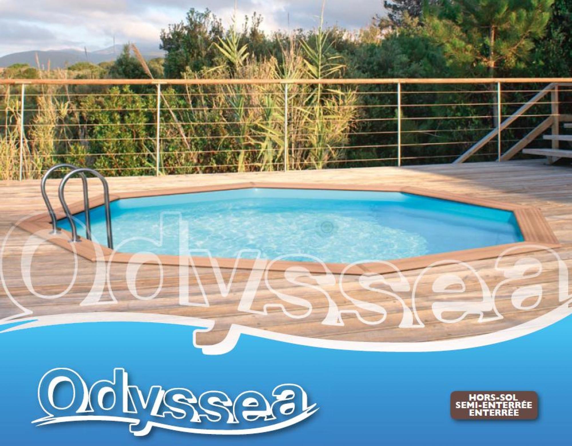 Piscine Bois Proswell By Procopi, La Gamme Odyssea ! Aquarev ... destiné Piscine Proswell