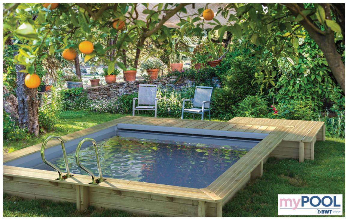 Piscine Bois Urbaine En Kit Proswell | Piscine-Center avec Piscine Urbaine Proswell