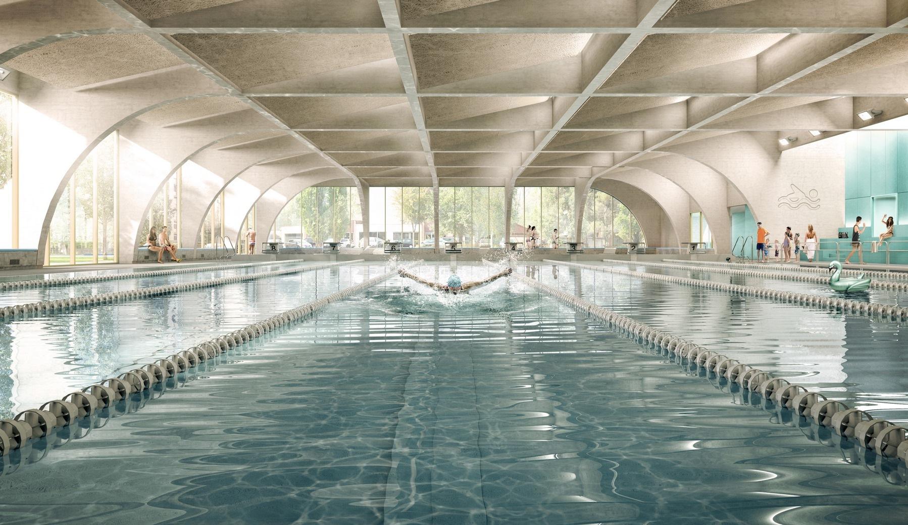 Piscine - Bourgoin-Jallieu (38) - Z Architecture pour Piscine Bourgoin Jallieu