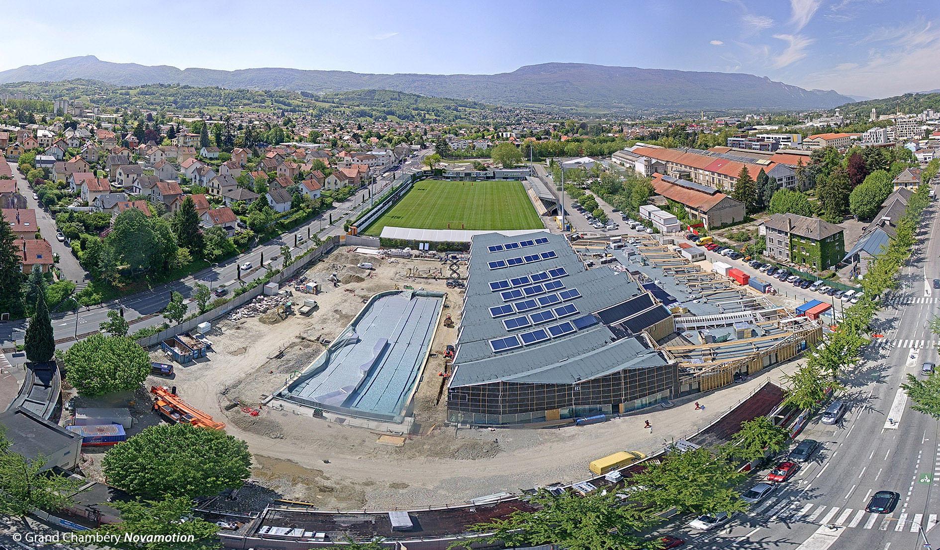 Piscine, Chambéry (73) :: Holz-Ingenieure Und Konstrukteuren intérieur Piscine Chambery