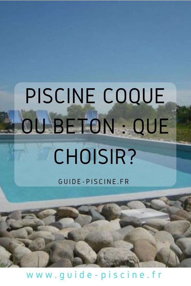 Piscine Coque Ou Béton : Quelle Piscine Enterrée Choisir ... pour Piscine Coque Ou Beton