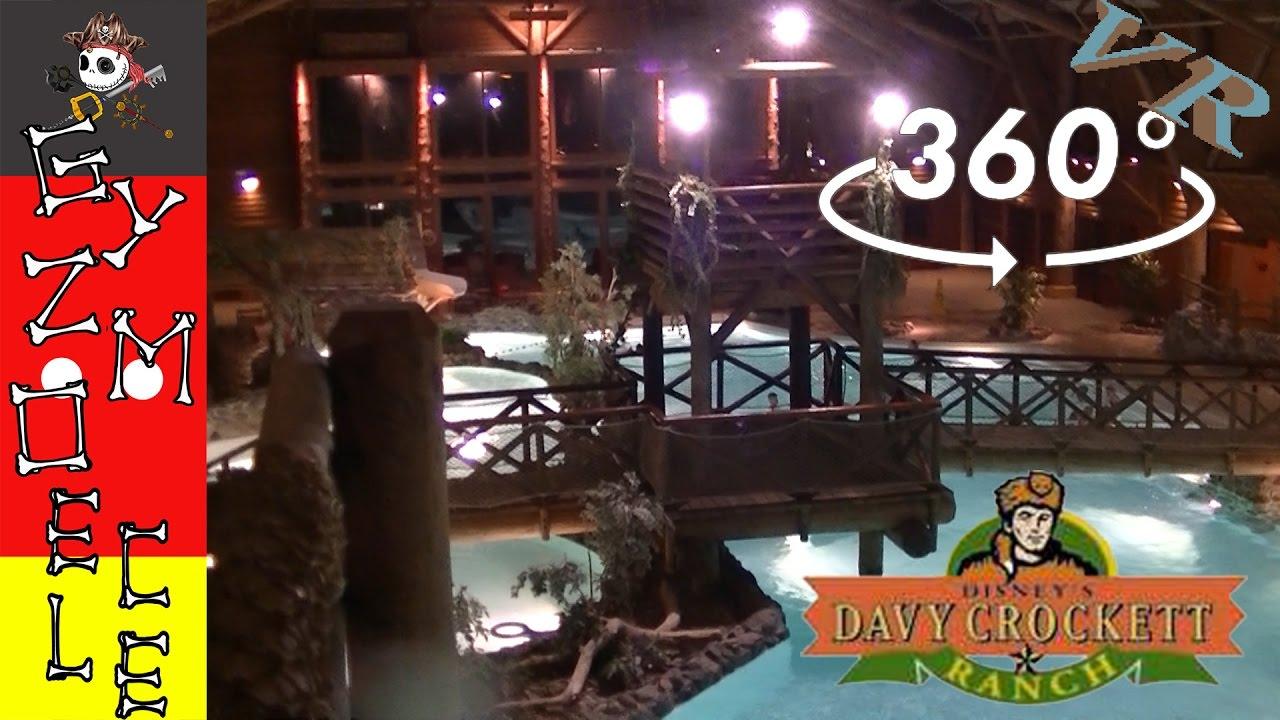 Piscine Davy Crockett Ranch [360 Vr]: Disneyland Paris encequiconcerne Piscine Davy Crockett