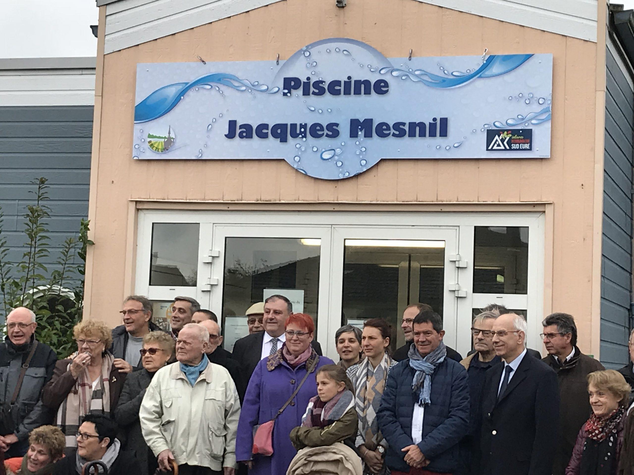 """Piscine De Breteuil """"jacques Mesnil"""" - Interco Normandie Sud ... pour Piscine Breteuil"""