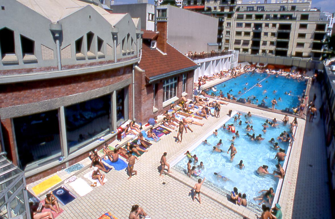 Piscine De La Butte Aux Cailles | Swimming Pools, House ... tout Piscine La Butte Aux Cailles