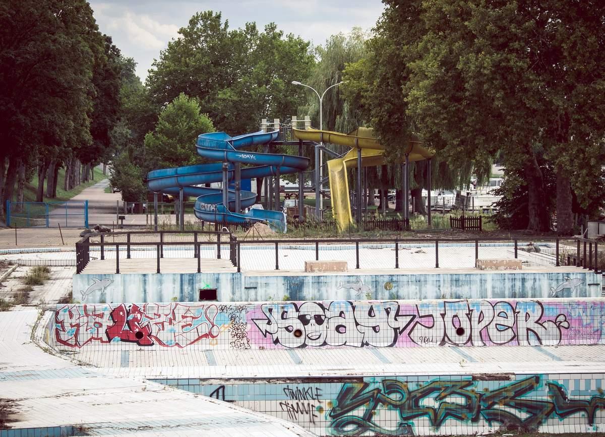Piscine De La Jonction - C'est La Vie ! Images D'archives avec Piscine Nevers