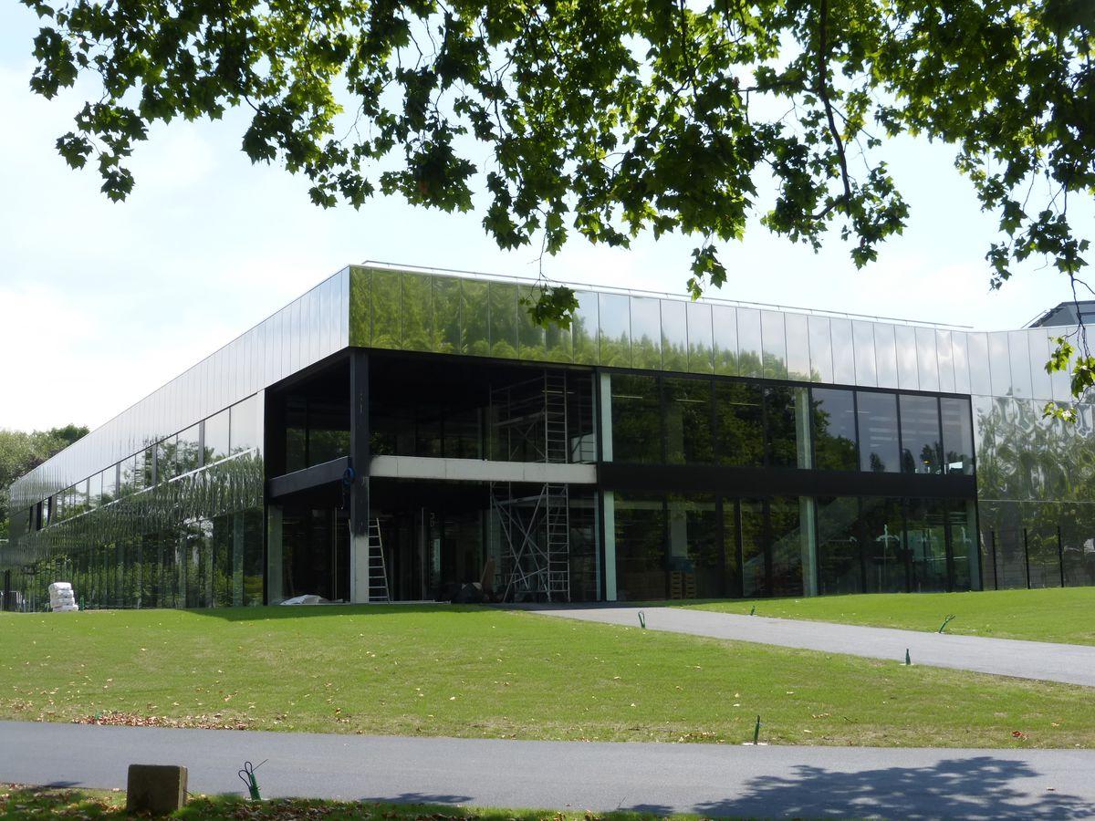 Piscine De La Kibitzenau (Strasbourg) — Archi-Wiki pour Piscine Kibitzenau