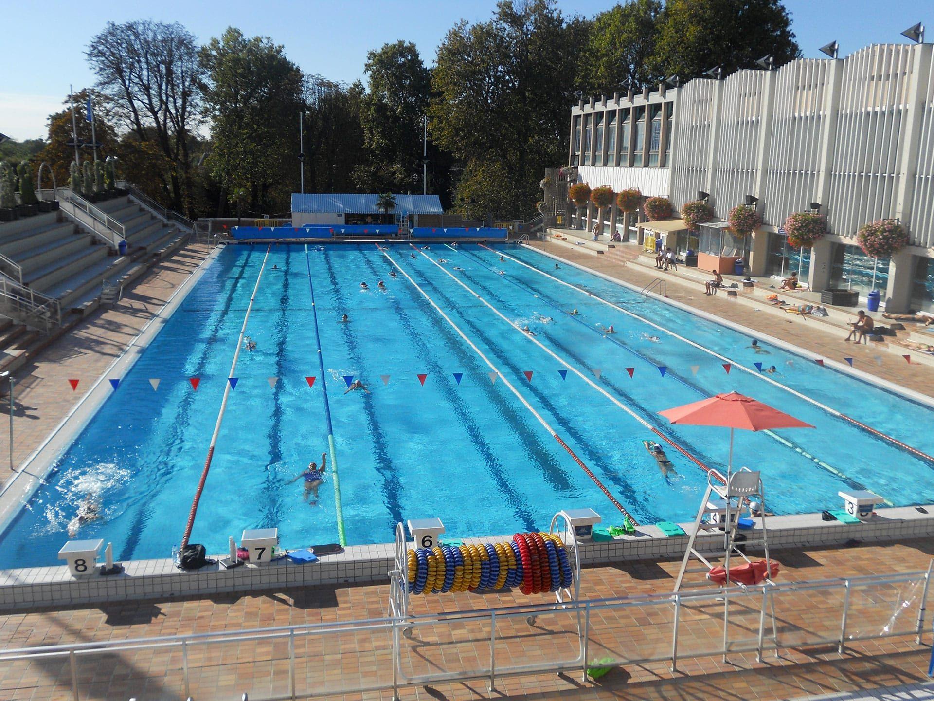 Piscine De Nogent Sur Marne : Bassin Olympique Et Intérieur pour Dimension Piscine Olympique