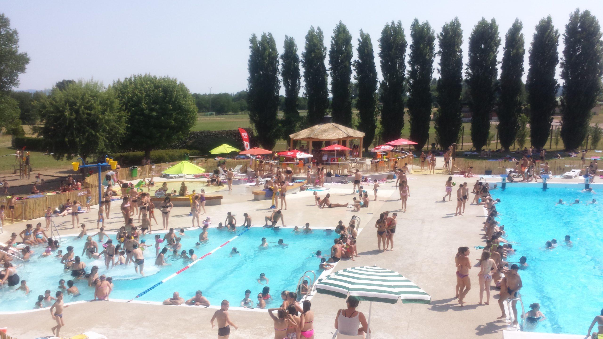 Piscine De Saint-Yorre - Vichy Communauté tout Piscine St Amand