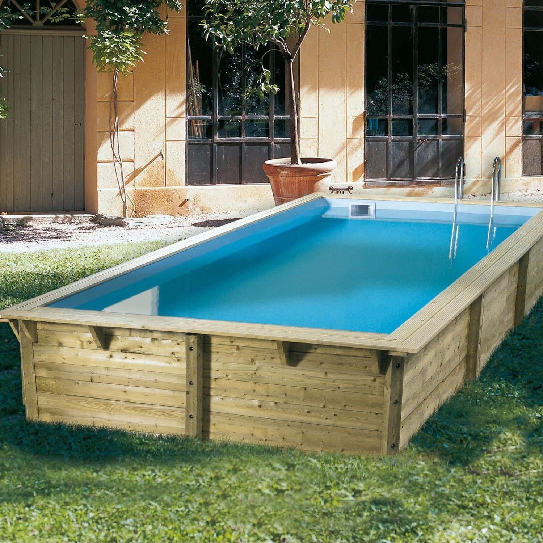 Piscine En Bois Pas Cher Schème - Idees Conception Jardin concernant Mini Piscine Hors Sol